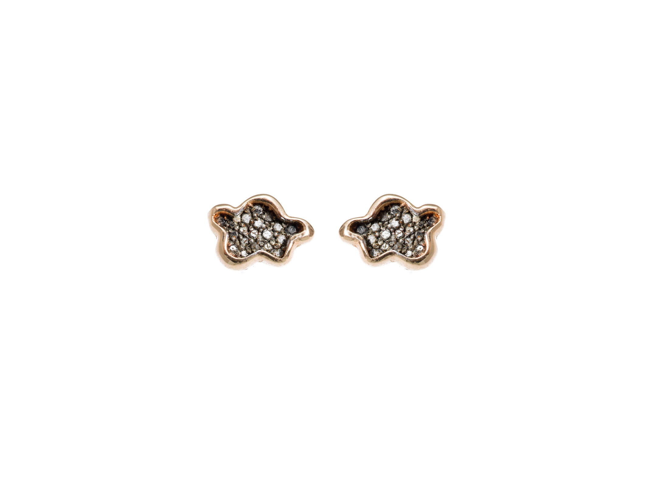small harry by lotus earrings diamond winston trans cluster en