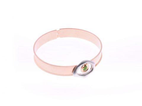 Medium Essence Plate Bracelet