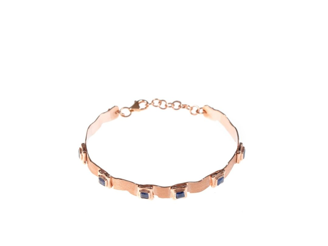 Perfect Square Sequence Plate Bracelet