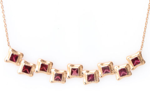 Perfect Square Sequence Necklace