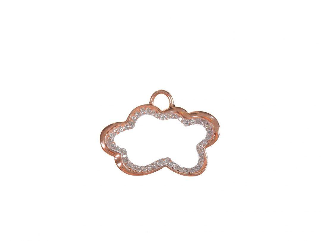 Medium Cloud Diamond Charm