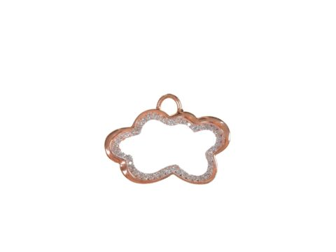 Medium Cloud Diamond Charm
