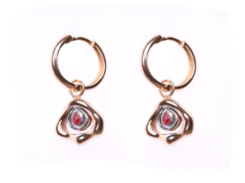 Small Essence Hoop Earrings