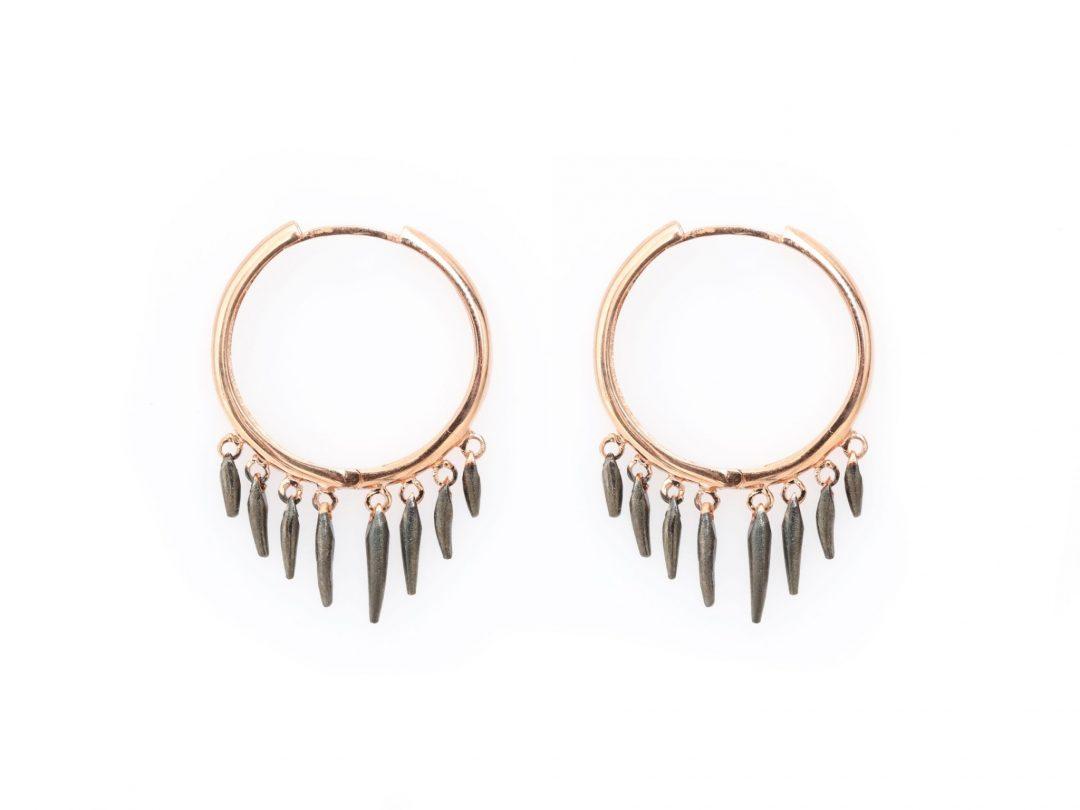 Piece of Sunshine Hoop Earrings