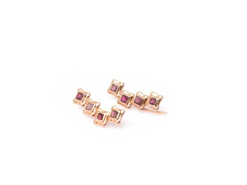 Perfect Square Sequence Ear Cuff