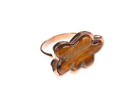Tiger Eye Cloud Ring