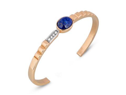 Lapis Lazuli Merdiven Diamond Bracelet
